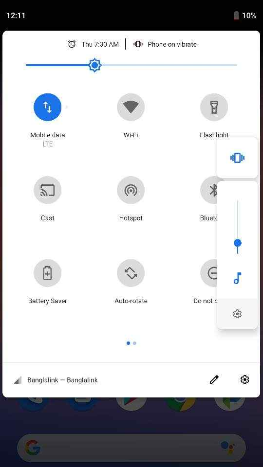 Smart lock features in Pixel Experience mido rom