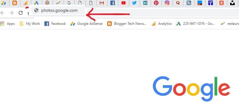 google photos web address