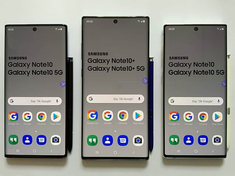 Android 10 On Galaxy Note 10 devices