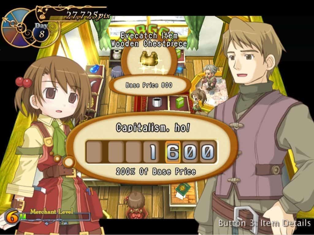 Recettear | games like stardew valley